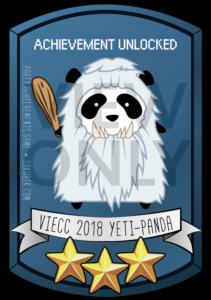 VIECC 2018 Yeti-Panda